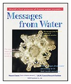 Messages from Water  by Dr Emoto book cover